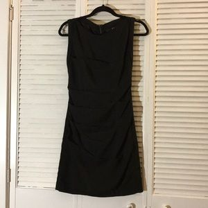 Express Rouched LBD with Full Zip Up Back